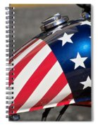American Motorcycle Spiral Notebook