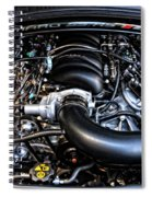 American Muscle Car Power Spiral Notebook
