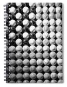American Pastime In Black And White1 Spiral Notebook