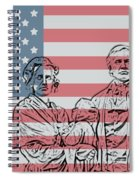 American Patriots Spiral Notebook