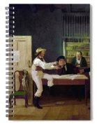 American Politicians, 1844 Spiral Notebook