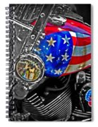 American Ride Spiral Notebook