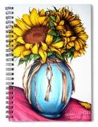 American Rustic  Spiral Notebook