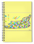 American Sign Language Baby Spiral Notebook