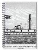 American Steamboat, 1827 Spiral Notebook
