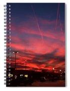 American Sunset Spiral Notebook