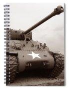 American Tank Spiral Notebook