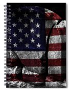 American Tombstone Spiral Notebook