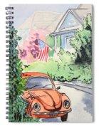 American Town Spiral Notebook