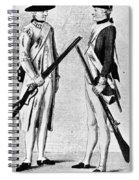 American Uniforms, 1784 Spiral Notebook