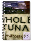 American Whole Tuna Spiral Notebook