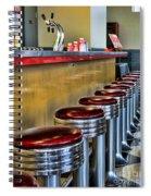 Americana - 1950's Diner Spiral Notebook