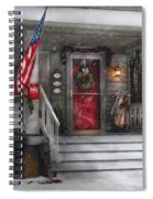 Americana - A Tribute To Rockwell - Westfield Nj Spiral Notebook