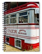 Americana Classic Dinner Booth Service Spiral Notebook