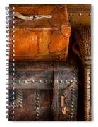 Americana - Emotional Baggage  Spiral Notebook