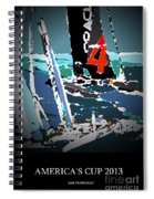 America's Cup 2013 Poster Spiral Notebook