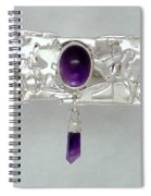 Amethyst Caverns Spiral Notebook