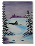 Amethyst Evening After Ross Spiral Notebook