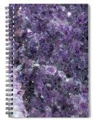Amethyst Geode II Spiral Notebook