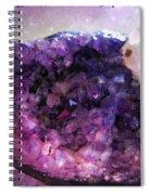 Amethyst  Spiral Notebook