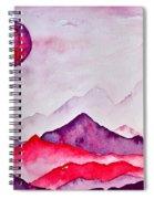 Amethyst Range Spiral Notebook