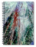 Amid The Falling Snow Spiral Notebook