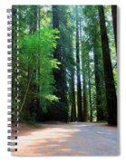 Amidst Giants Spiral Notebook