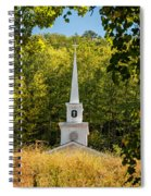 Amidst The West Virginia Woods Spiral Notebook