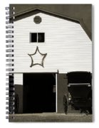 Amish Barn And Buggies Spiral Notebook