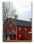 Amish Barn And Wind Mill - Allen County Indiana Spiral Notebook