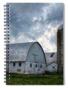 Amish Barn Spiral Notebook