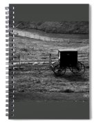 Amish Buggy Spiral Notebook