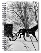 Amish Buggy Revised Spiral Notebook
