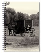 Amish Buggy Sept 2013 Spiral Notebook