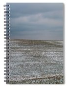 Amish Country In Winter Spiral Notebook