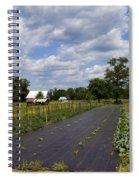 Amish Farm And Garden Spiral Notebook