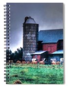 Amish Farming 2 Spiral Notebook