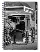 Amish Gas Spiral Notebook