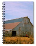 Amish Metal Barn Spiral Notebook
