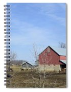Amish Panorama Spiral Notebook