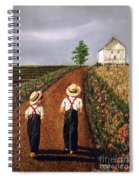 Amish Road Spiral Notebook