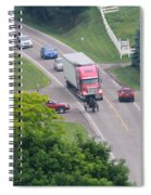 Amish Traffic Jam Spiral Notebook