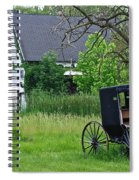 Amish Way Of Life Spiral Notebook
