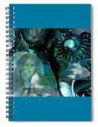 Ammonite Seascape Spiral Notebook