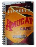 Amocat Cafe Spiral Notebook