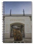 Amon G Carter Stadium At Tcu Spiral Notebook