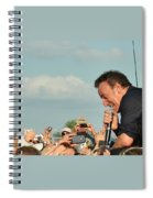 Among The Crowd Spiral Notebook