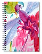 Among The Peonies Spiral Notebook