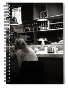 Amor In A Madrid Bar - Spain Spiral Notebook