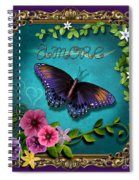 Amore - Butterfly Version Spiral Notebook